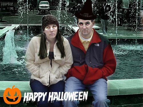 Robert and emily halloween