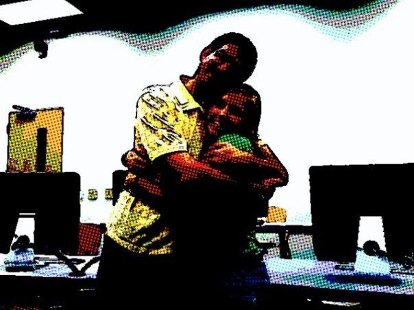 Me and HF hug